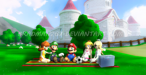 Mario and Friends: Summer Chill by BradMan267