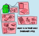 Whats in your bag meme by crpechonick