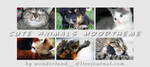 Cute Animals Moodtheme by Foxxie-Chan