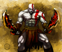 Kratos by verdugocenobita