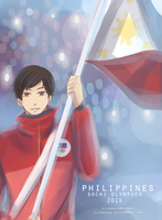 Philippines: Michael Martinez by Elvenrain