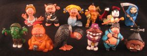 Garbage Pail Kids series 2 by plasticplayhouse