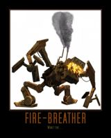 Star Wars The Clone Wars Fire-breather by Onikage108