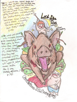 Lord of the Flies 1-pager by Butterscotch-Llama