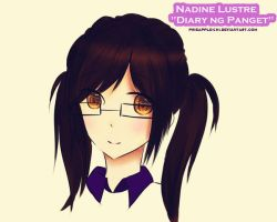 Eya / Nadine Lustre from Diary ng Panget (DNP) by pineapple-chi
