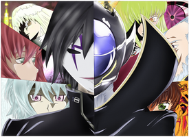 Darker Than Black:X:Code Geass by UntouchedDesigns