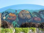 The Good Dinosaur Mural by montey4