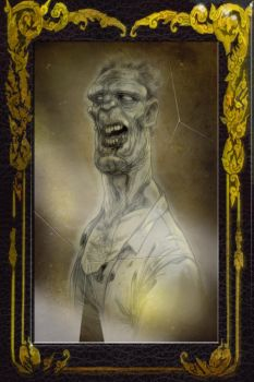 Zombie daguerrotype by whyteboxer