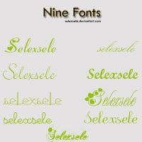 Fonts .02 by selexsele