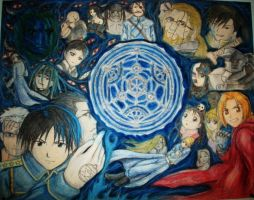 Full Metal Alchemist B by animecraze101