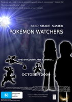 Pokemon Watchers Film Poster 2 by Juptile