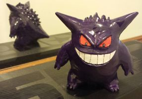 Gengar Sculpt (with back) by TweedLD