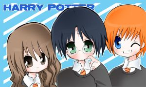 :.Harry Potter.: Colorr by WorldlyStar