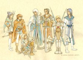 The Guardian Knights by Yakra