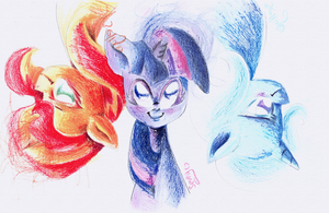 We're Magic by Sellyinwonderland