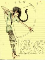 Katniss Everdeen by Rainyday2