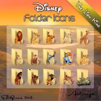 Disney Folder Icons - The Lion King by EditQeens
