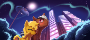 Walk in the Park -commission- by bronyseph