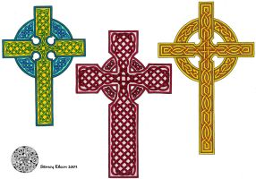 Flash - Celtic Crosses 2 by sidneyeileen