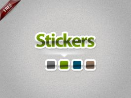 Stickers Styles by artnook