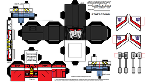 G1 starscream cubee remastered by lovefistfury