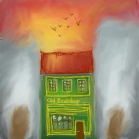 The Old Bookshop - sketch by rainbow-color
