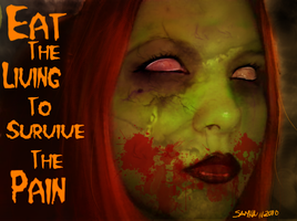 Eat the Living by Samhain-Voodoo