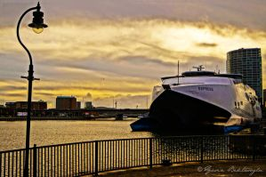 P and O Ferry, The River Lagon, Belfast by yasinbektasoglu