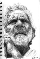 Old Man by draw2live