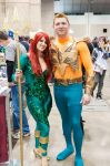 Queen Mera and Aquaman by Hillz01