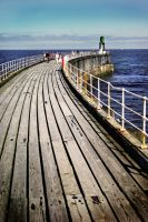 Whitby Harbour by PhilWinterbourne