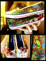 My self-made shoes. by Criispy