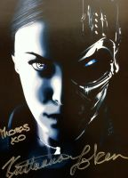 Kristanna Loken Vector Signed by predator-fan