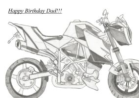 My Dad's B'day Gift by Megabitron