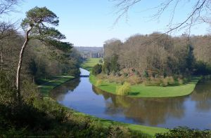 Fountains Abbey from Surprise View by bobswin