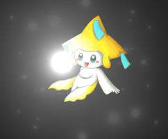 Jirachi Contest Entry for Nestly by MilleniumDream