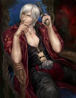 Dante Fan Art by kzver
