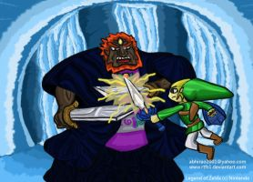 Wind Waker Ganon battle by rtfs1
