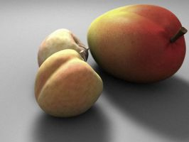 Mango n Peaches by Jammurch