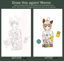 Meme: Draw this again by Abuchi