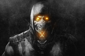 Mortal Kombat X - Scorpion [Wallpaper] by ArtieFTW