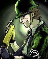 The Riddler by blacktenshi22