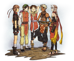 Suikoden Series - Leaders' Get Together by msloveless