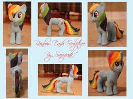 Rainbow Dash Sculpture by SnowPeak