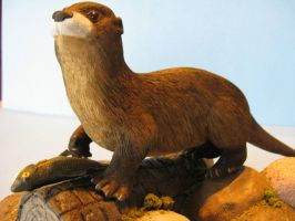 RIVER OTTER 10 by Bagheera3
