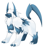 Absol Evolution by Deruuyo