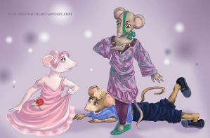 Request: Angelina Ballerina by Madmorumotto