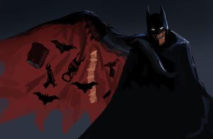 shoddy batman by unded
