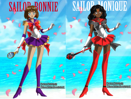 SAILORS BONNIE AND MONIQUE by bonnybanshey