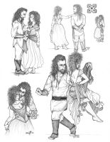 Thorin and Balinsdotter by iluvobiwan91